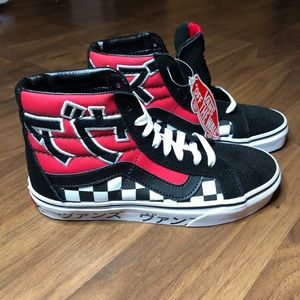 NEW Vans Japanese Type Red Re-Issue Sk8 Hi